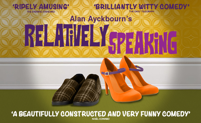 Relatively Speaking by Alan Ayckbourn Theatre Royal Windsor 3-7 July 2018